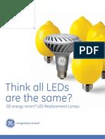Catalogo LED GE