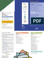 Bilbao 2012, avance programa