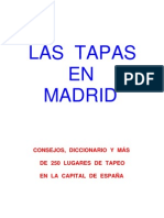 Guía del tapeo en Madrid