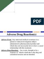 ADR Monitoring