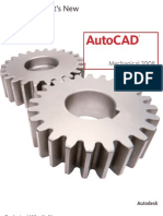 AutoCAD Mechanical 2008 - Technical What's New