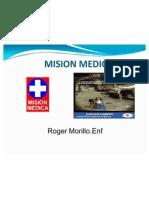 MISION MEDICA CHARLA