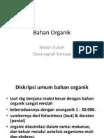 Bahan Organik