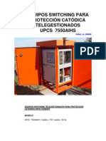EQUIPOS SWITCHING PARA PROTECCIÓN CATÓDICA