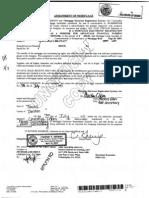 Second Assignment/Lien Redacted 2011