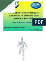 PROF. FABRÍCIO - bioquimica aplicada ao exercicio