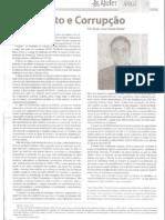 Jeito e Corrupção - Artigo Prof. Dr. Saulo Casali Bahia