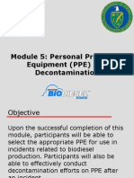 05 PPE and Decontamination
