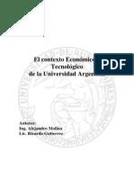 Contexto Economico y Tecnologico de La Universidad Argentina