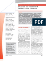 Diagnosis and Treatment of Osteochondritis Dissecans