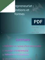 projet Entrepreunariat