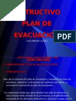 INSTRUCTIVO PLAN DE EVACUACIÓN