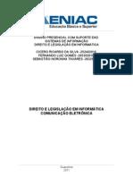 Direito e Legislação em Informática_trabalho