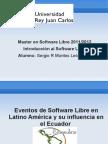 Eventos SL e cia en Ecuador
