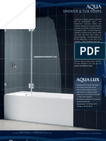 Dream Line Showers Shower Tub Doors Aqua