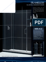 Dream Line Showers Shower Doors MirageVitreo