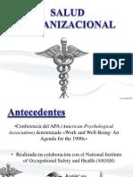 Salud Organizacional