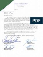 Carta al depto de estado por parte de 4 congresistas (Miami Venezuela Consul Letter to State Department)