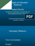 Isabel Alarcao - Formação do Educador Reflexivo