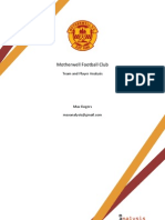 Mother Well F.C. Report