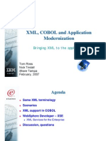 XML, COBOL and Application