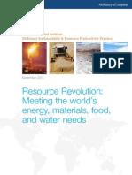 MGI Resource Revolution Executive Summary