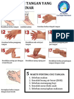 7 Cara Cuci Tangan Yang Benar