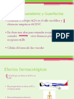 Clonidina Guanabenz y Guanfacina