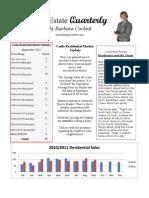Central Louisiana Real Estate Quarterly October 2011