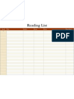 Reading List1