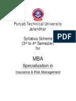 MBA Insurance Risk