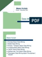 Materi Kuliah Data Mining 1