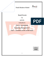 Levi's Brand Dossier