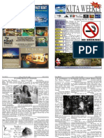 "Kuta Weekly-Edition 262 ""Bali""s Premier Weekly Newspaper"""