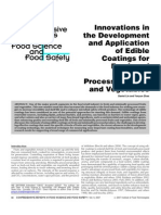 Innovation in the Developmenr and Application of Edible Coatings
