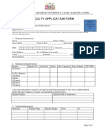 BBSUL Faculty Employment Form
