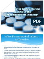 Indian Pharmaceutical Industry_Final Presentation