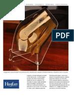 Equine Hoof Anatomy Plastinate Brochure Lr