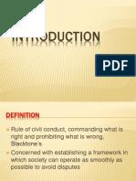 CHAP1- Intro, Procedure