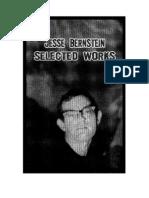 Jesse Bernstein - Selected Works