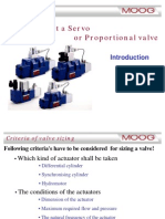 Sizing of Servo Valve