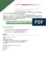 Mat Progressao Aritmetica ( PA ) I