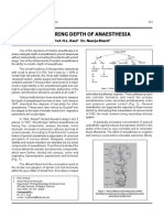 Monitoring Depth of Anaesthesia