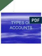 Types of Accounts Ishan