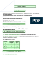 Mat Expressoes Algebricas