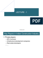 Lecture 1 - Construction Industry