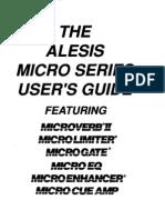 Alesis Micro Series Manual