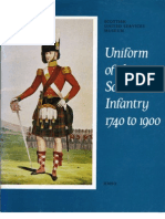 Scottish Infantry Uniforms