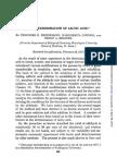 Lactic Acid Determination 1