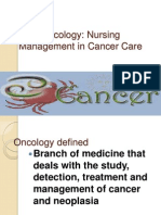 Nursing Oncology